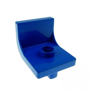 1 x Lego brick Blue Duplo Furniture Chair with 1 Stud  4839