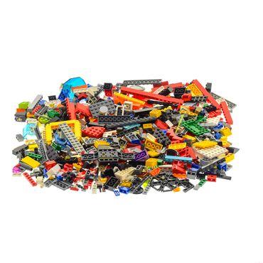 500 parts Lego brick Stones Basic Special Stones Kiloware 0,70 kg approx Wheels Doors plates windows animals parts can be included color mixed randomly  – Bild 3