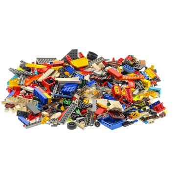 500 Teile Lego System Steine Kiloware Sonderteile Form Größe bunt gemischt 0,70 kg z.B. Räder Platten Fenster  – Bild 4