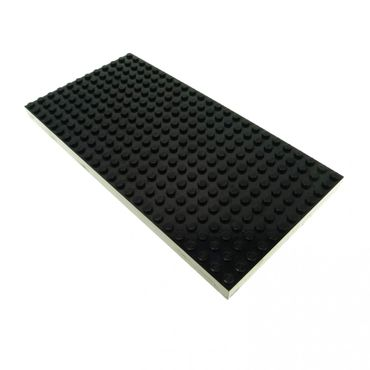 1 x Lego brick black thick plate 12 x 24 8781 4730 10144 4181042 30072