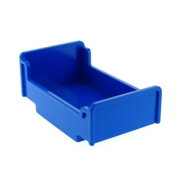 1 x Lego brick blue Duplo Furniture Bed 3 x 5 x 1 2/3 6000804 76338 4895