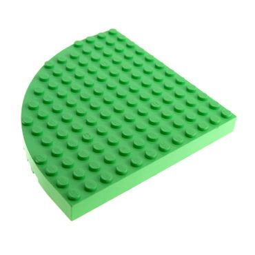 Bau Basis Platte  hellgrün mint  8x16 Noppen Lego Grund