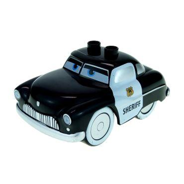 1 x Lego Duplo Fahrzeug Disney Pixar Cars Auto Figur Sheriff Polizei Disney Pixar 5814 88760 88762c01pb02 89803pb01
