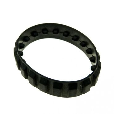 1 x Lego brick black Tread Small (20 tread 'links') x939