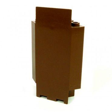 1 x Lego brick Brown Panel 3 x 3 x 6 Corner Wall 2345