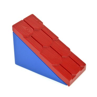 1 x Lego brick Blue Duplo Roofpiece Slope 33 2 x 4 Shingled Set 9167 2672 2211
