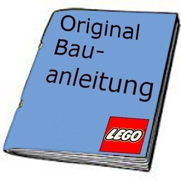 2 Stk Lego System Bauanleitung World City Polizei Station Police Truck 7035 7034
