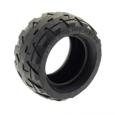 1 x Lego brick black Tire 68.8 x 36 H 4189326 41893