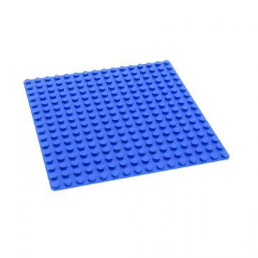 1 x Lego System Bau Basic Platte blau 16x16 Noppen für Set 6494 4585049 6098 3867