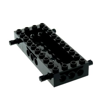1 x Lego System Fahrgestell schwarz 4x10 LKW Unterbau Platte 10 x 4 Noppen Auto Chassis Set 4608 30643