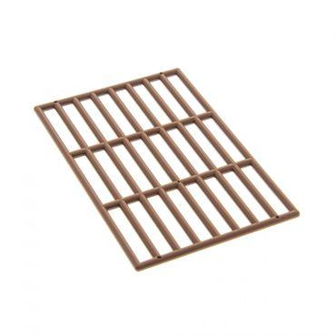 1 x Lego brick brown Bar 9 x 13 Grille Set 6076 6082 6098 6091 6097 6279 6046