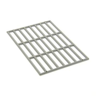 1 x Lego System Gitter groß pearl light gray 9x13 Ritter Burg Castle Fall Gittertor Grille Set 8759 7787 4278014 6046