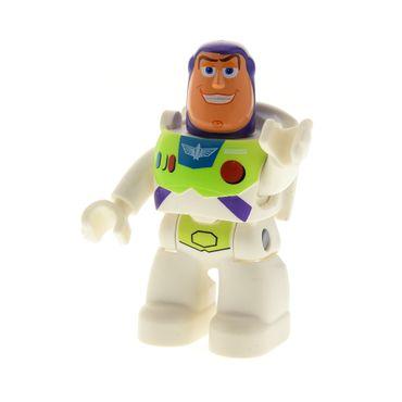1 x Lego Duplo Figur Mann Buzz Lightyear weiß lila hell grün Toy Story 5659 5658 5691 47394pb128
