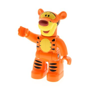 1 x Lego Duplo Disney Figur Tigger orange Winnie the Pooh Tiger Tier neue Form 5946 47394pb139