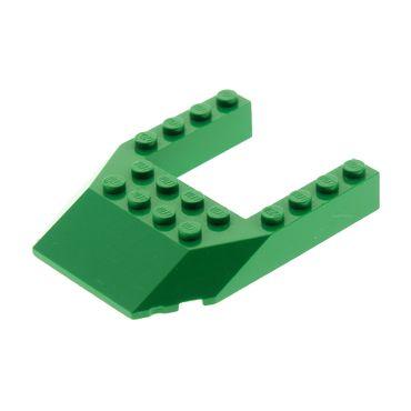 1 x Lego System Cockpit grün 6 x 8 Keil Schräg Dach Fassaden Stein Führerhaus Heck Front Zug Spitze Set 7124 32084