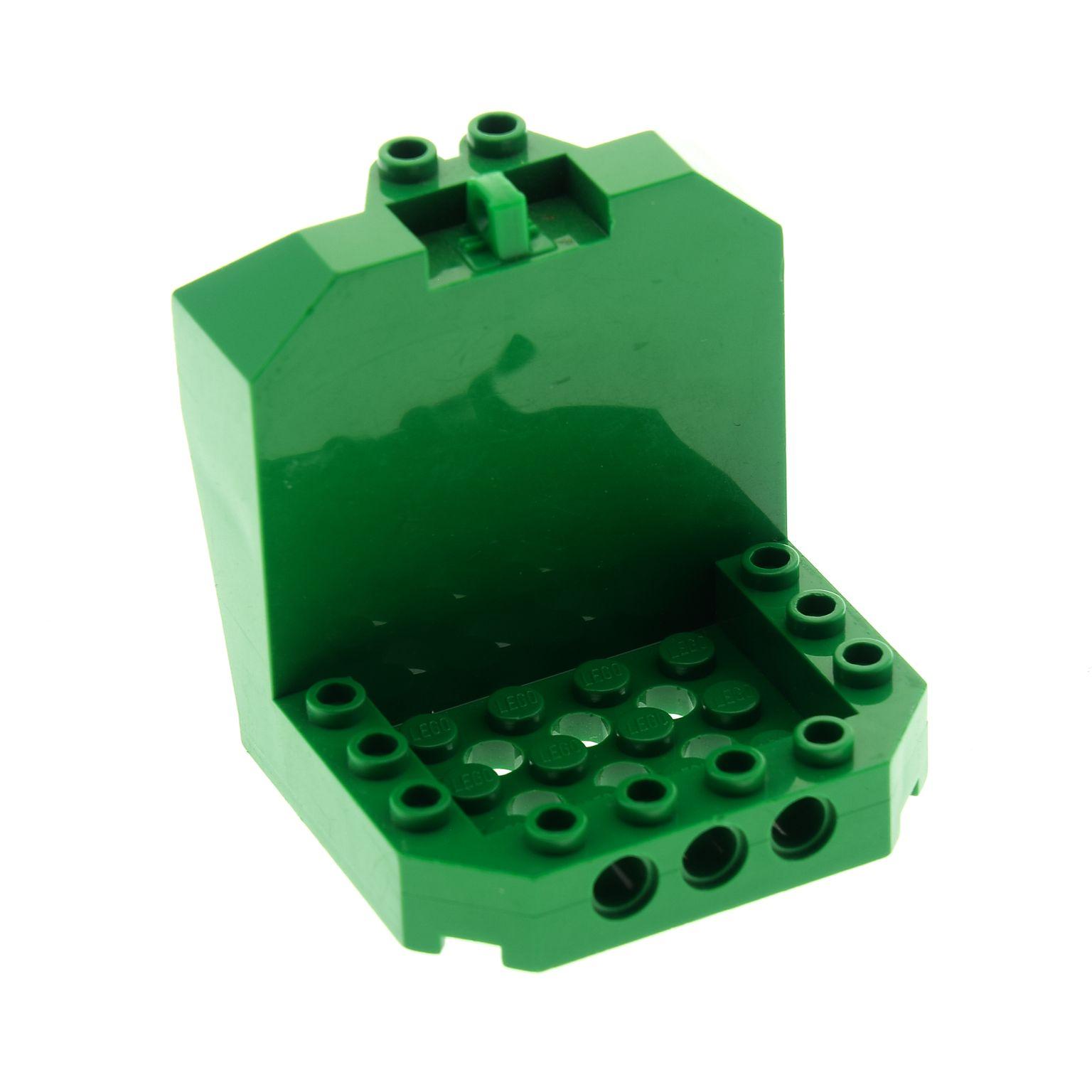 1 x Lego System Cockpit blau 11x4x2 Keil Schräg Negativ Stein Front Kanzel 6058 LEGO Bausteine & Bauzubehör LEGO Bau- & Konstruktionsspielzeug