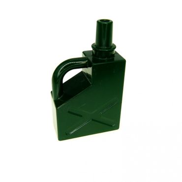 1 x Lego brick dark green Duplo Utensil Gas Container 1 x 2 x 2 45141