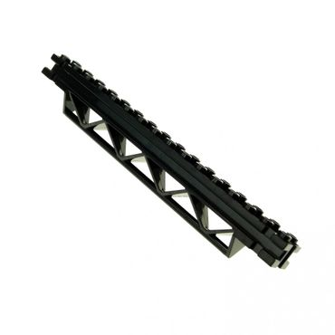 1 x Lego brick Black Support 2 x 16 x 2 Girder Triangular Horizontal 4142884 30518