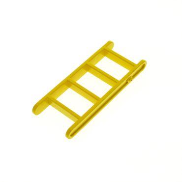 1 x Lego Duplo Leiter gelb 4 Sprossen Treppe Ritter Burg Feuerwehr Baustelle Wagen Zoo x1118