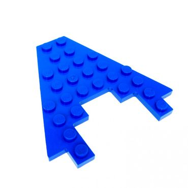 1 x Lego brick Blue Wedge, Plate 8 x 8 with 3 x 4 Cutout 6834 5521 6190 1793 6104