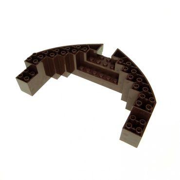 1 x Lego System Boot Rumpf Bug Reling Platte Reddish braun 16x10x3 Piraten Schiff  6243 70413 4539395 64645