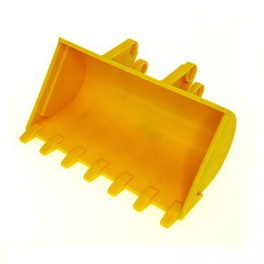 1 x Lego Technic Bagger Schaufel gelb 8x10 Digger Bucket Radlader 8453 2951