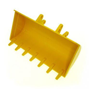 1 x Lego Technic Bagger Schaufel gelb 8x14 mit 7 Zähnen Digger Bucket Radlader 8853 8862 2814