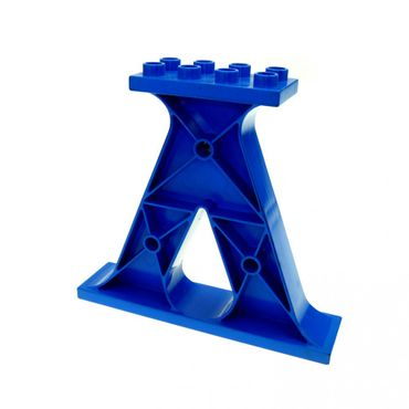 1 x Lego brick Blue Duplo Support (Windmill Base) Set 5609 9166 26555 4539