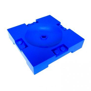 2 x Lego System Sport Feld blau 8 x 8 Basketball Platte Spielfeld Sports Field 3440 3430 30492