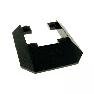 1 x Lego System Zug Dach schwarz 45° 6x6 für Eisenbahn Lok Metroliner 9V Set 6493 7467 10001 4558 2876