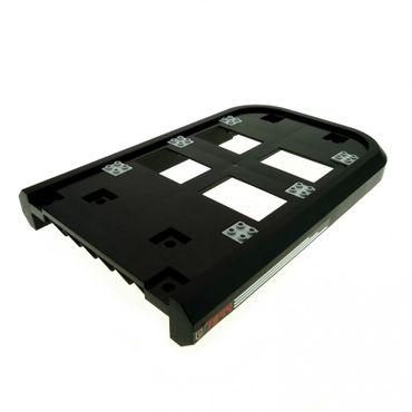 1 x Lego System Boot Rumpf Schiff schwarz Hovercraft Luftkissenboot Deck mit Aufkleber 7944 4496628 57915