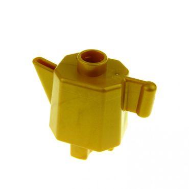 3 x Lego Yellow rectangular bricks Parts /& Pieces – 301024 size 1x4