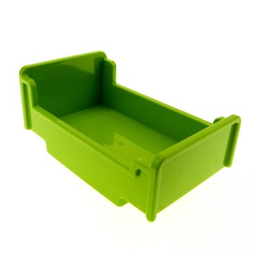 1 x Lego brick lime green Duplo Furniture Bed 3 x 5 x 1 2/3 4895