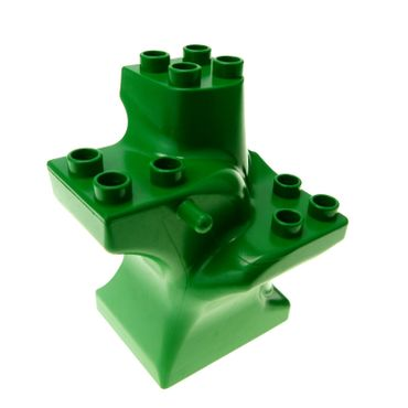 1 x Lego brick green Duplo Plant Tree Trunk Segment Base Set 9129 2834 4121607 6411
