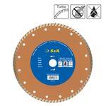 S&R Diamanttrenntscheibe 230x2,6x22,2 mm Turbo Universal,Standard Trockenschnitt 001