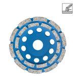 S&R Diamantschleiftopf 125x22,2 mm Standard Beton   2-reihig 001