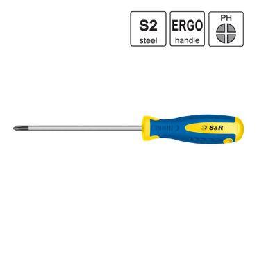 S&R Schraubendreher PH 3x150 S2 Serie