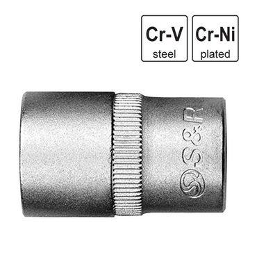 "S&R Steckschlüsseleinsatz 1/2"", 8mm"