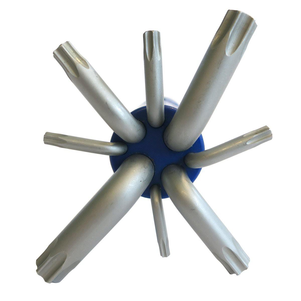 Winkelschlüsselsatz Set Für TORX Schrauben Innensechskantschlüssel 9 teilig