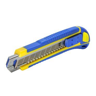 S&R Cuttermesser 170mm, Abbrechklinge 18 mm, Cartridge,3 Klinge SK5 ,4 cut-position ,TPR Griff – Bild 2