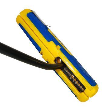 S&R Kabelentmanteler PRÄZISION Abisolierwerkzeug, Kabel 10-20AWG, SAT/RG6 & RG59, Niedervolt Kabel 8-13mm Universal-Entmantelungswerkzeug  – Bild 4