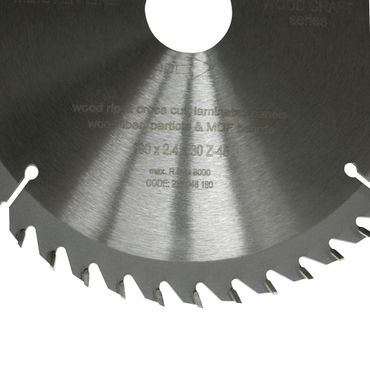 S&R Kreissägeblatt 250x30x2,6mm 80T /Wood Craft/ Holz Kraft in Profiqualität  – Bild 2