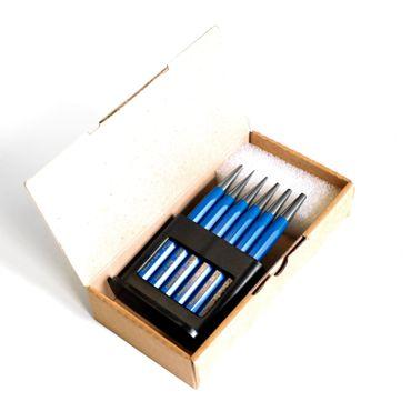 S&R Durchtreiber Satz / Made in Germany/  6-tlg.: 1, 2, 3, 4, 5 mm + 1x Körner aus Chrom-Vanadium Stahl – Bild 4