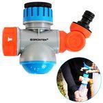 GRÜNTEK Multifunktions-Wasserhahn-Adapter mit Schlauch-Kupplung und Wasserhahn Funktion mit 2 Strahlungsarten  001