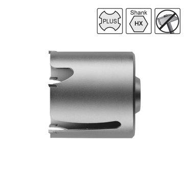 S&R Universal- Bohrkrone 74 mm 5 HM-Zähne