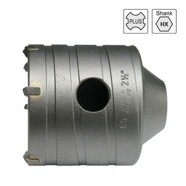 S&R Leicht- Bohrkrone 82x50 mm