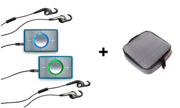 CEECOACH 2 Bluetooth Duo Set türkis/silber – Bild 1