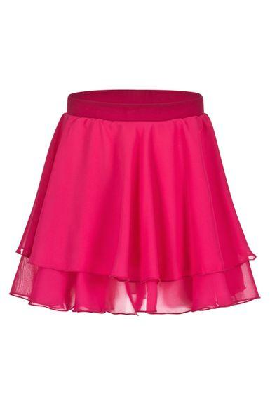 """Ballettrock """"Elli"""" mit Gummizug, zwei Lagen Chiffon, pink"""