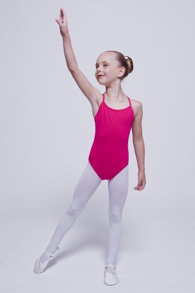 """Ballettanzug """"Leonie"""" mit Trägern, pink"""