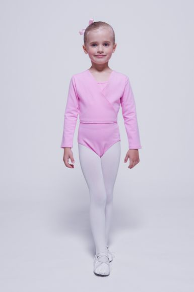 "Ballett Wickeljacke ""Mandy"", rosa"